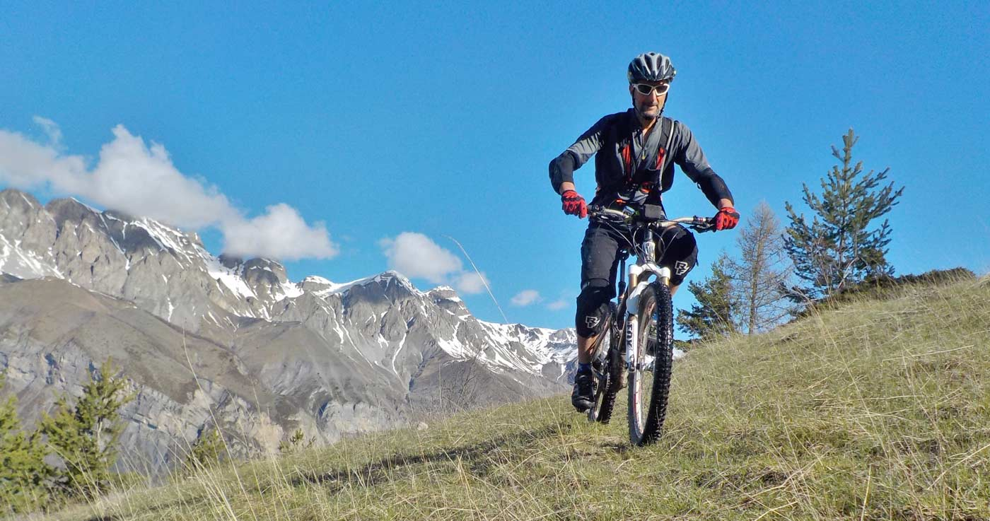 Mountain bike mercantour nice