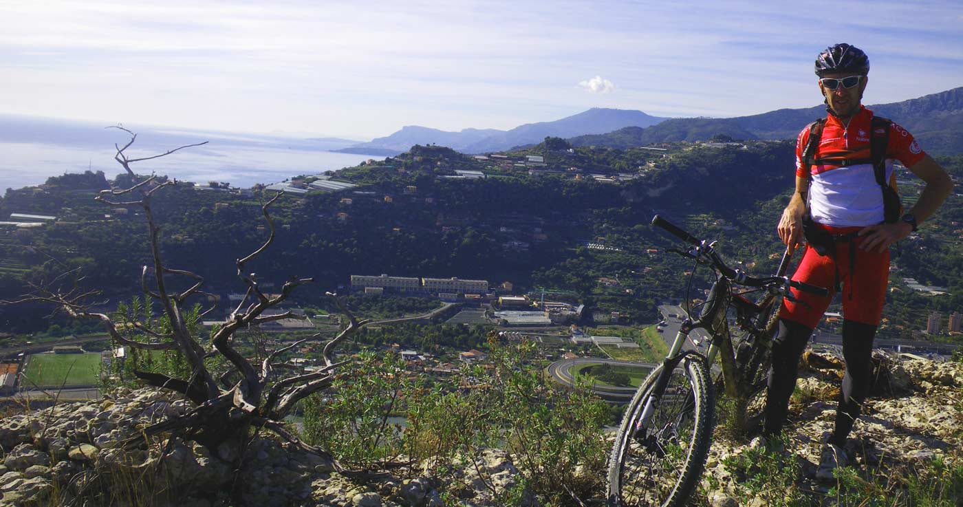 Mountain bike mercantour cote d'azur