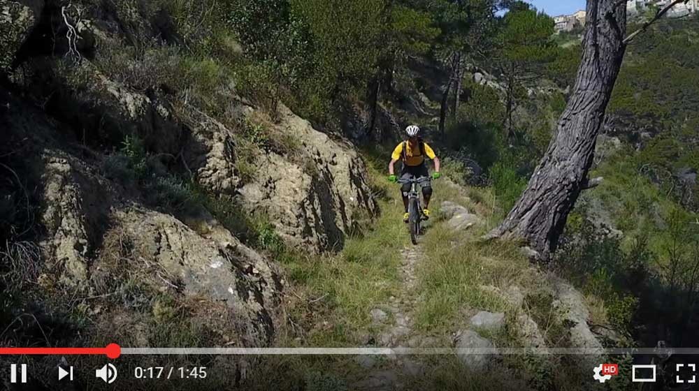 Vtt Enduro single 60 épingles