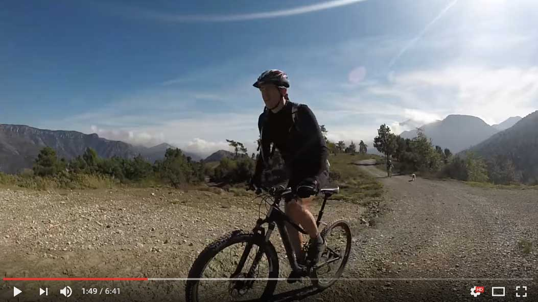 Vtt easy mercantour