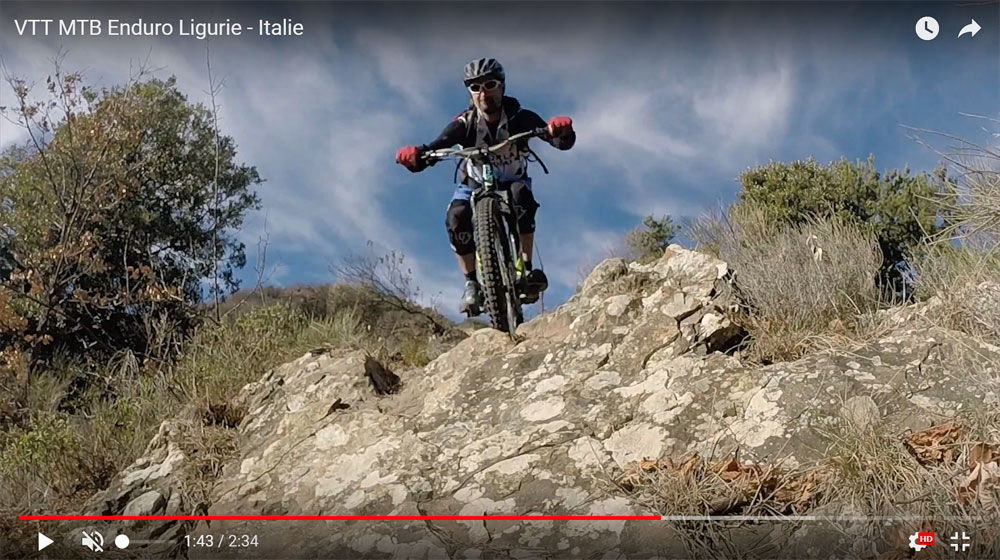 VTT all mountain -  italie