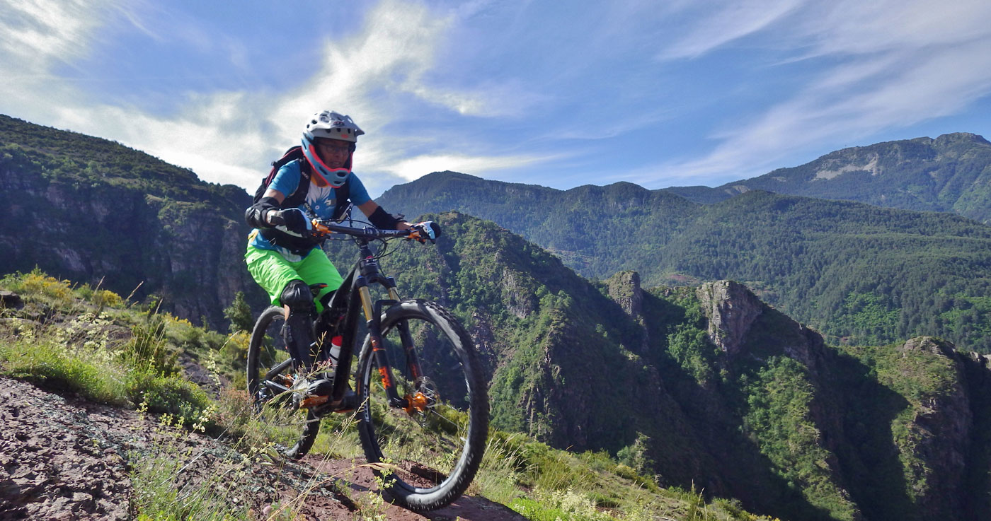 Vtt cross country mercantour